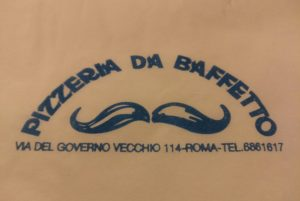 Pizzeria Da Baffetto - Roma